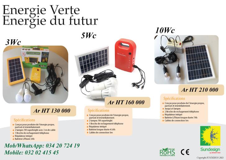Kit solaire DC